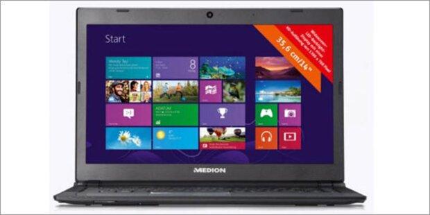 Windows 8 Ultrabook um 599 Euro bei Hofer