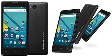 Hofer bringt Android 5.0 Phone um 87 €
