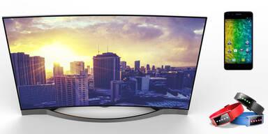 Medion Curved-4K-TV zum Kampfpreis