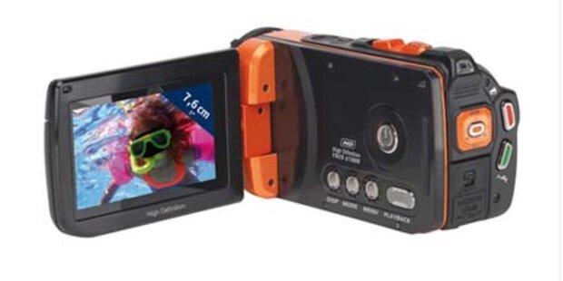 Günstiger Unterwasser FullHD-Camcorder