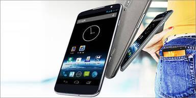 Hofer bringt 5 Zoll Android Smartphone