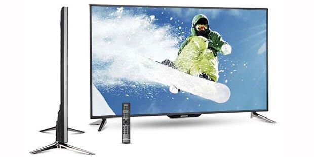 Hofer verkauft Riesen-Fernseher