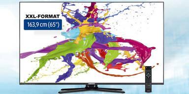 Hofer bringt edlen Riesen-Fernseher