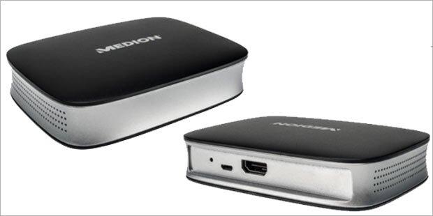 Medion bringt günstige Streaming-Box