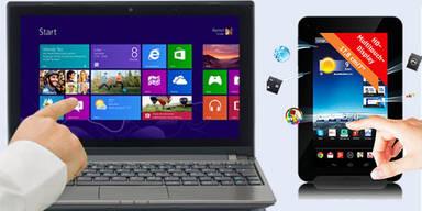 Hofer bringt Android 4.2-Tablet um 100 Euro