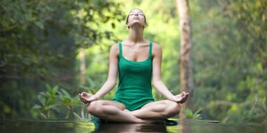 Meditieren Sie sich gesund