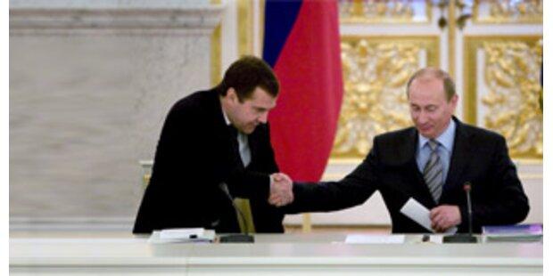 Medwedew verspricht Kampf gegen Korruption