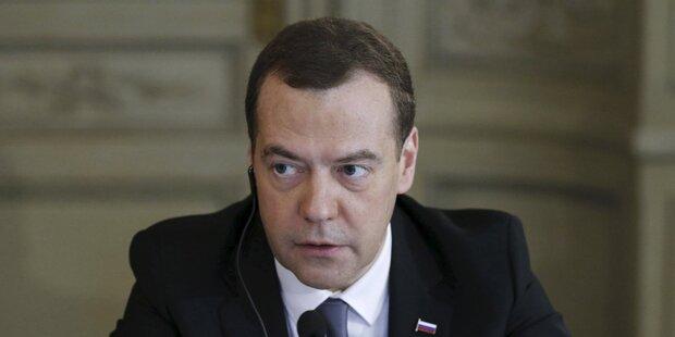 Medwedew sieht europäisches Versagen