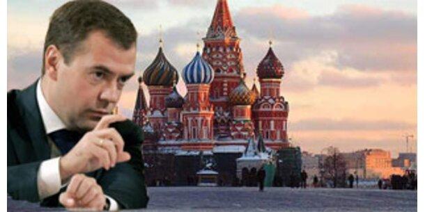 Medwedew will Moskau zu Finanzplatz Nr. 1 machen