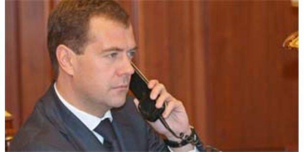 Medwedew ordnet Grenzfestlegung am Nordpol an