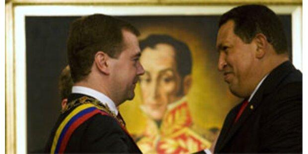 Russland liefert Waffen nach Venezuela