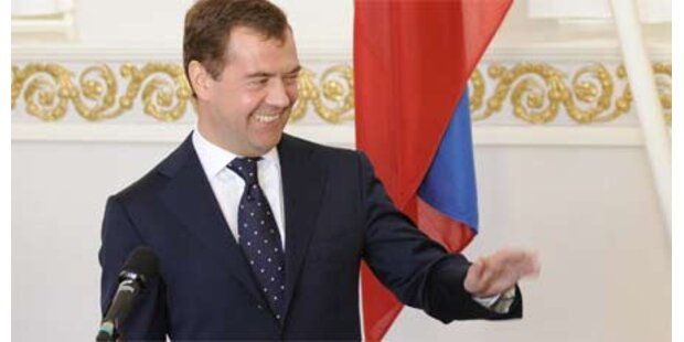 Medwedew will Welt-Sicherheitsgipfel