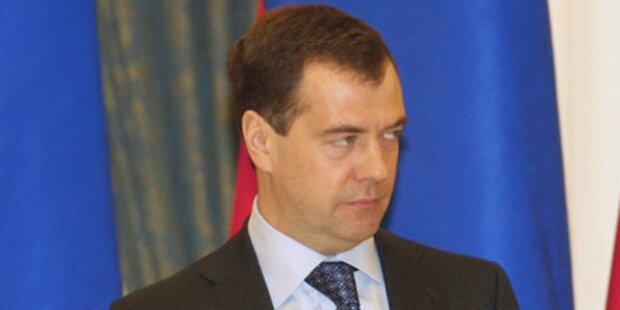 Medwedew-Partei erleidet herbe Verluste