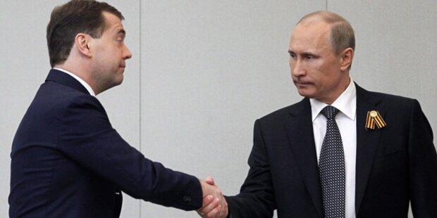 Medwedew neuer Regierungschef
