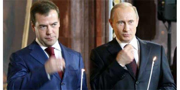 Medwedew gilt noch immer als Putin-Kopie