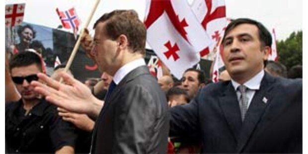 Medwedew nennt Saakaschwili politische Leiche