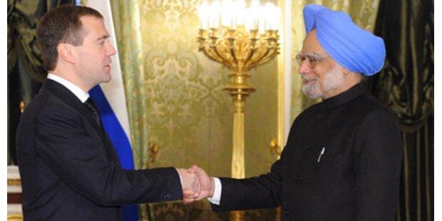 Russland baut Atomreaktoren in Indien
