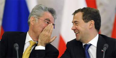 Dimiri Medwedew, Heinz Fischer