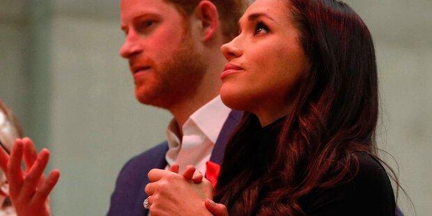 Harter Ehevertrag für Meghan und Harry