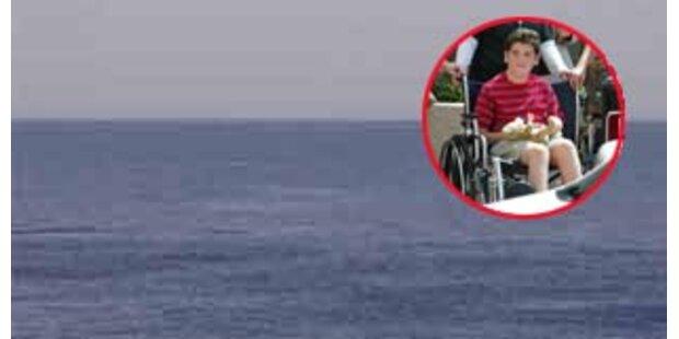 Vater und Sohn überlebten eine Nacht im Atlantik