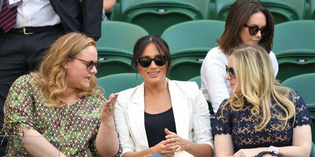 Meghan: Shitstorm für zickigen Wimbledon-Auftritt