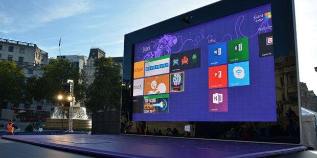 Microsoft baut größtes Tablet der Welt