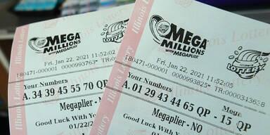740 Millionen Dollar! Glückspilz knackt Mega-Jackpot