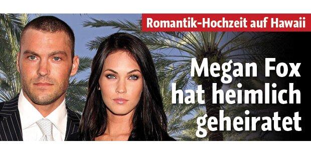 Megan Fox hat heimlich geheiratet