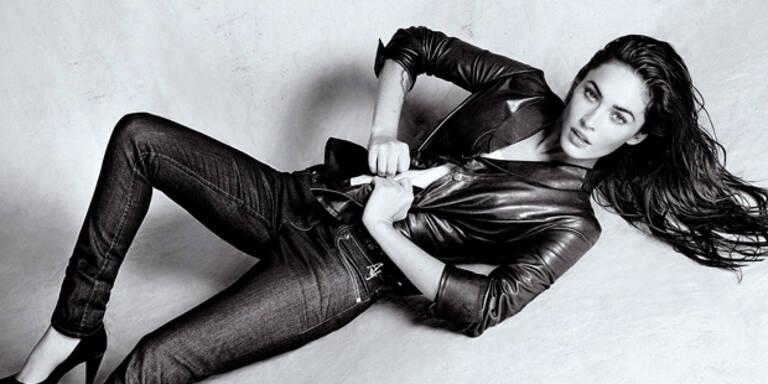Megan Fox sexy in Armani