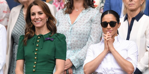 Kate soll Zwillinge erwarten & Meghan schäumt