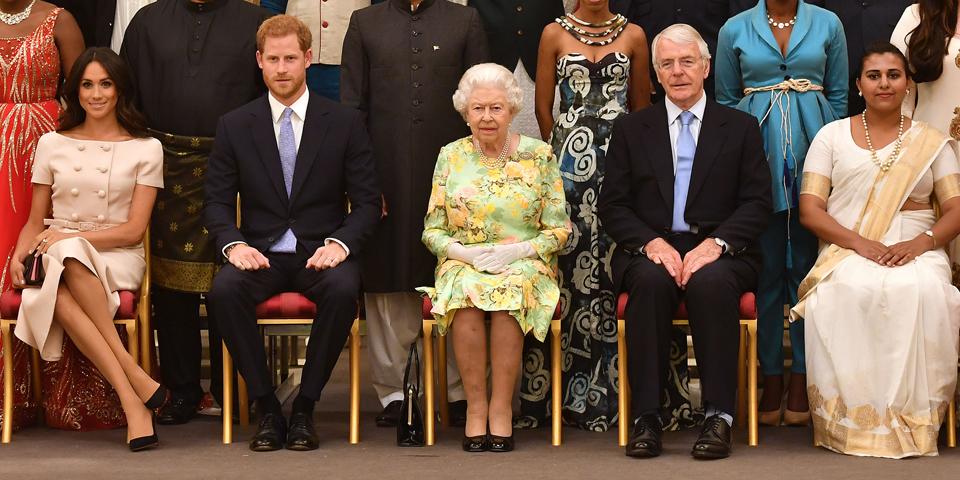 Meghan Harry Queen