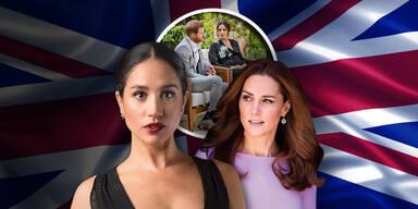 Meghan gegen Kate: Krieg der Herzoginnen