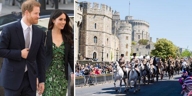 Royal-Hochzeit: Probe enttäuscht Fans