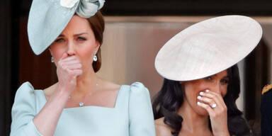 Meghan brachte Kate zum Weinen