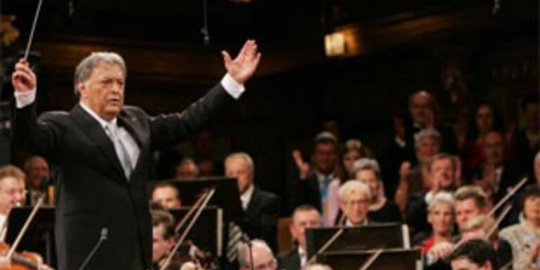 Zubin Mehta erhielt stehende Ovationen bei seinem Wien-Konzert im Musikverein