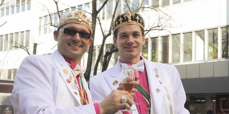 Kärnten krönt 1. schwules Prinzenpaar