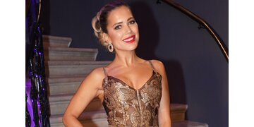 Opernball: Sylvie Meis glänzt in Gold