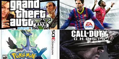 Die meistverkauften Games des Jahres