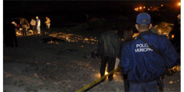 Zwölf kopflose Leichen in Mexiko entdeckt