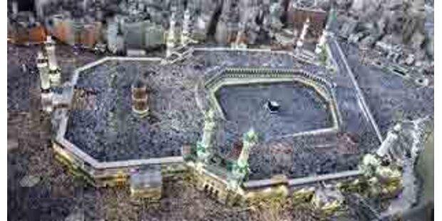 Fast drei Millionen Pilger bei Hadsch in Mekka