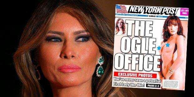 First Lady posierte ganz nackt