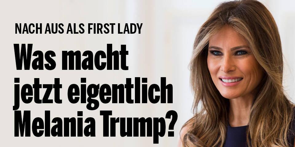 Was macht jetzt eigentlich Melania Trump?