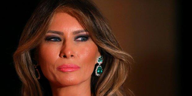 Wo ist eigentlich Melania Trump?
