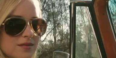 Melanie Griffiths Tochter Dakota modelt