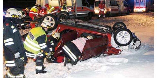 Crash: 3 Ungarn fast getötet