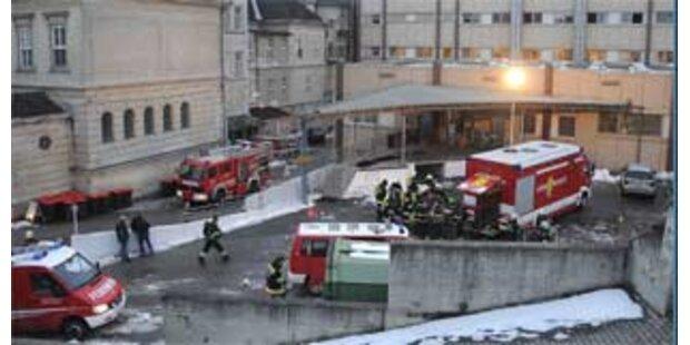 Großeinsatz bei Brand im Krankenhaus Melk
