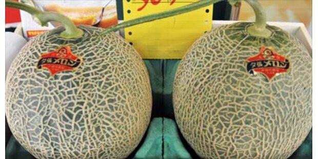 Japans Luxusmelonen im Preissturz