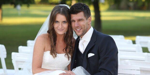 Jürgen Melzer hat geheiratet