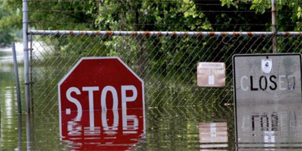 Tausende flüchten vor Mississippi-Flut