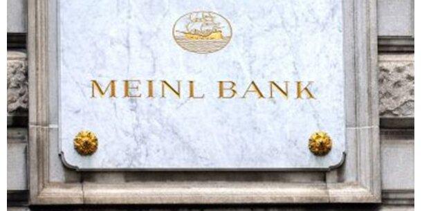 Neue Anzeige der Meinl Bank gegen AI